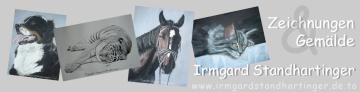 Heichnungen und Gemälde, Irmgard Standhartinger