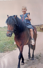 Von klein auf waren Pferde meine Leidenschaft